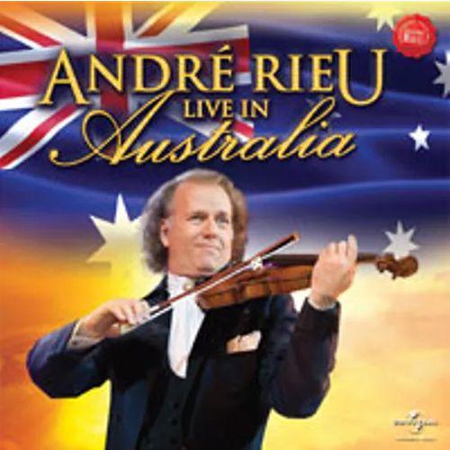 Andre Rieu - Live In Australia  Cd Nacional  - Billbox Records
