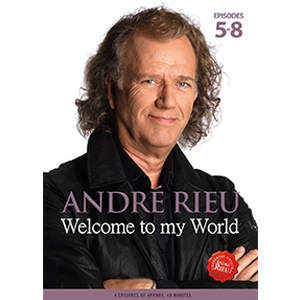 Andre Rieu / Welcome To My World: Episodes 5-8 - Dvd  - Billbox Records
