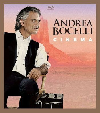 Andrea Bocelli - Cinema  - Blu ray Importado   - Billbox Records