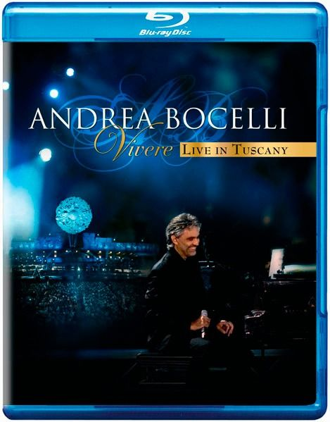 Andrea Bocelli  -  Vivere: Live in Tuscany - Blu ray Importado  - Billbox Records