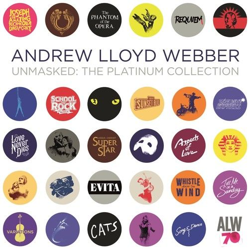 Andrew Lloyd Webber - Unmasked: The Platinum Collection - Cd Duplo Importado  - Billbox Records