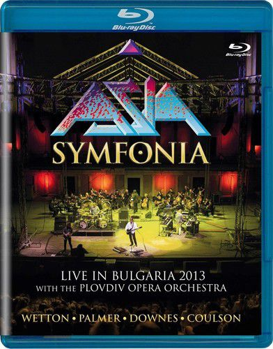 Asia - Symfonia: Live In Bulgaria 2013 - Blu Ray Importado  - Billbox Records