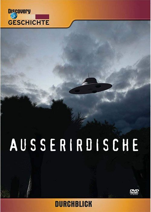 Ausserirdische - Discovery Channel - Dvd Importado  - Billbox Records