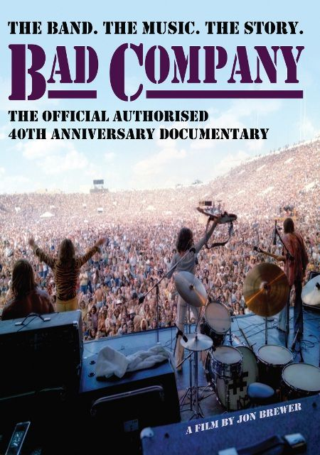 Bad Company - The Official Authoraised  40th Anniversary Documentary - Blu Ray Importado  - Billbox Records