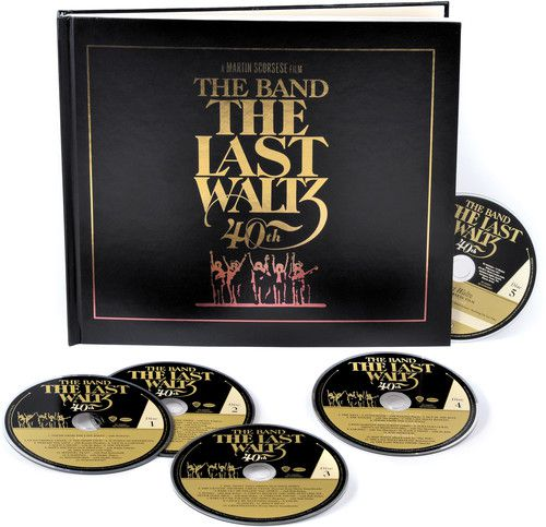 Band Last Waltz 40th Anniversary Edition Box 4 Cds + Blu ray Importados  - Billbox Records