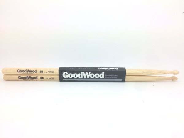 Baquetas GW5BW Ponta de Madeira - Goodwood - Vater  - Billbox Records