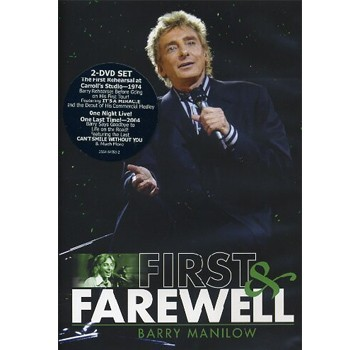 Barry Manilow - First And Farewell - Dvd Importado  - Billbox Records
