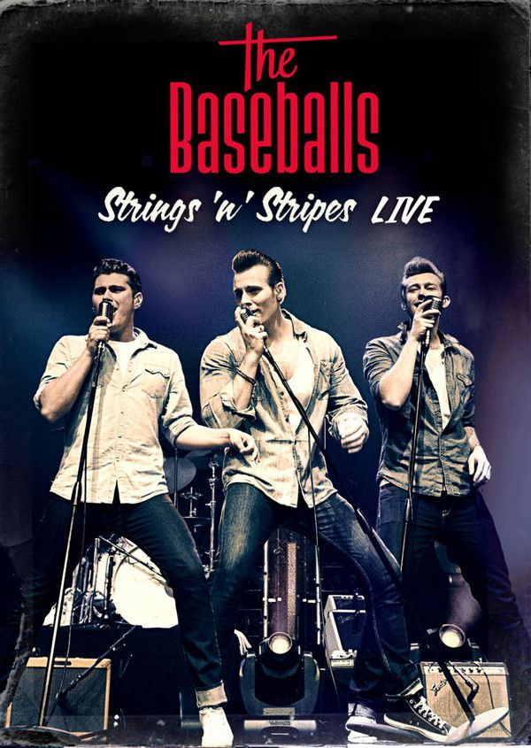 Baseballs - Strings N Stripes Live - Blu ray Importado  - Billbox Records