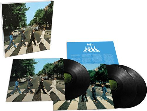 Beatles Abbey Road Anniversary  Vinil 180 gramas- 3 Lps Importados  - Billbox Records