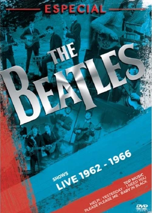 BEATLES ESPECIAL SHOWS LIVE 1962 / 1966  DVD NACIONAL  - Billbox Records