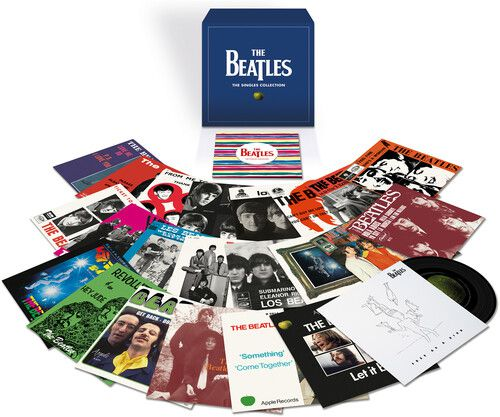 Beatles The Singles Collection Limited Edition, 180 Gram Vinyl, With Book, Remastered - Box Importado  - Billbox Records