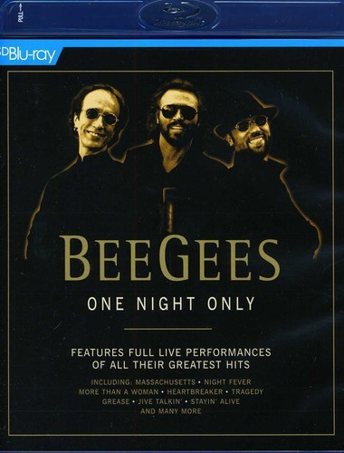 Bee Gees - One Night Only - Versão Europeia - Blu ray Importado  - Billbox Records
