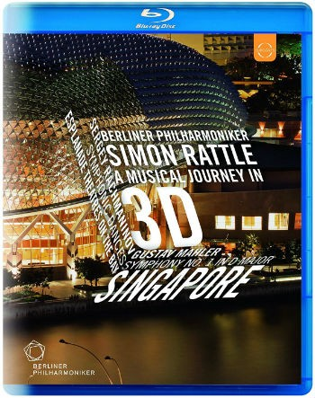 Berliner Philharmoniker Singapure - Simon Rattle - A Musical Journey in 3D - Blu ray Importado  - Billbox Records