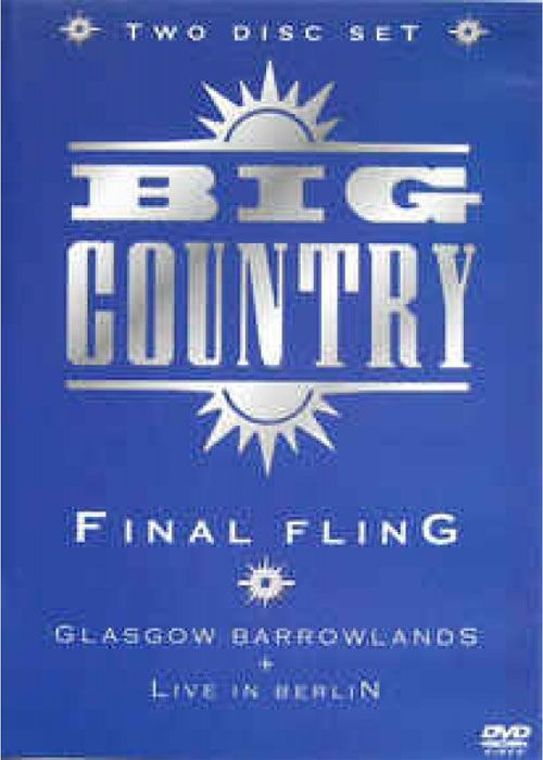 Big Country - Final Fling - Dvd Nacional  - Billbox Records