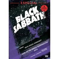 BLACK SABBAT ESPECIAL - 1970 ROCK CONCERT - LIVE AT 02 ARENA BIRMINGHAN 2012 - DVD NACIONAL  - Billbox Records