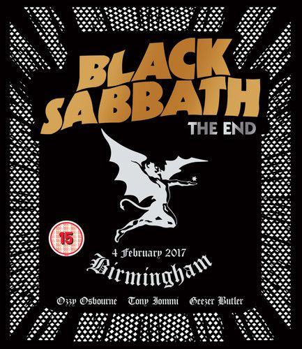 Black Sabbath - The End: Birmingham - 4 February 2017  - Cd Importado  - Billbox Records