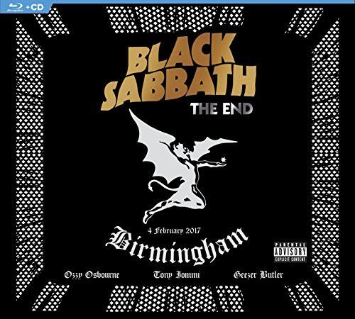 Black Sabbath The End [Explicit Content](With Blu-ray, Digipack Packaging)  - Billbox Records
