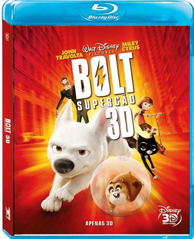 Bolt O Supercão - 3 D - Blu Ray Nacional  - Billbox Records