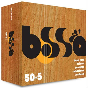 Bossa 50 + 5 - Bossa Nova, Balanço, Sambalanço - Box com 5 Cds - Billbox Records