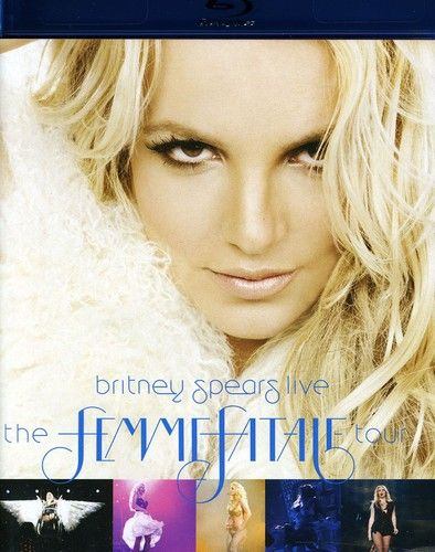 Britney Spears Live: The Femme Fatale Tour - Blu ray Importado  - Billbox Records