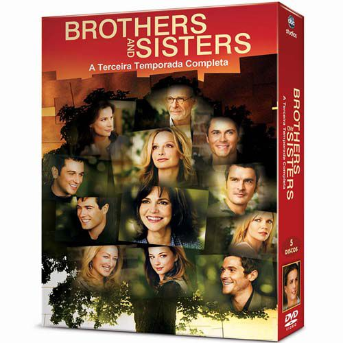 Brother and Sisters Terceira Temporada Completa - Box Dvd Nacional  - Billbox Records