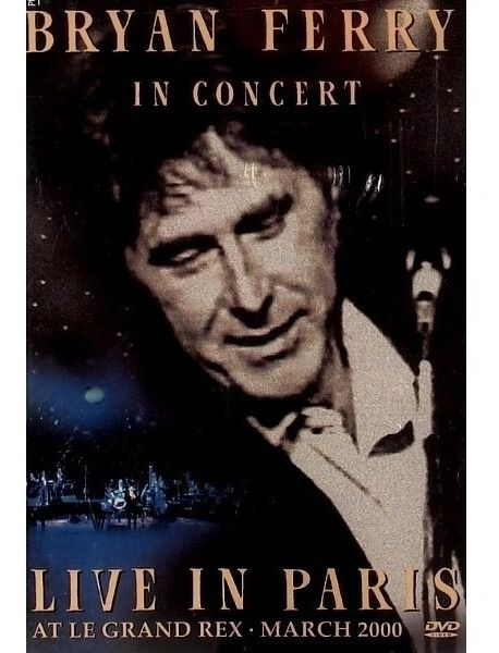 Bryan Ferry Live in Paris at Le Grand Rex - Dvd Importado  - Billbox Records