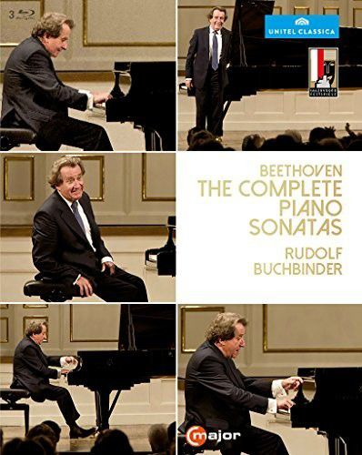 Buchbinder Beethoven: Complete Piano Sonatas - 3 Blu rays Importado  - Billbox Records
