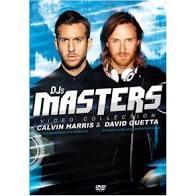 CALVIN HARRIS & DAVID GUETA DJS MASTERS VIDEO COLLECTION - DVD NACIONAL  - Billbox Records