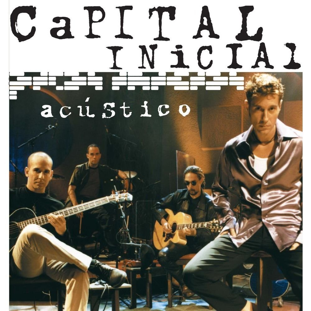 Capital Inicial Acústico Mtv  - Cd Nacional  - Billbox Records