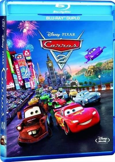 Carros 2 - Blu Ray Duplo - Blu Ray Nacional  - Billbox Records