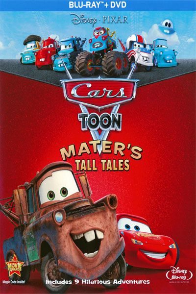 Cars Toon - Grandes Historias Do Mate - Blu Ray Nacional  - Billbox Records