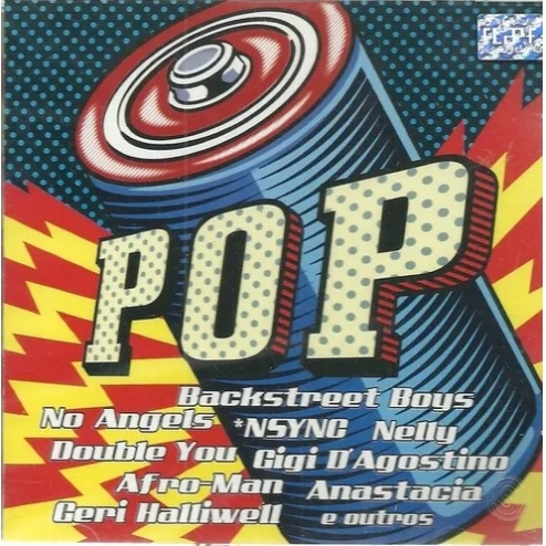 Cd Pop - 2001 - Backstreet Boys - Nsync - Nelly - No Angels - Cd nacional   - Billbox Records