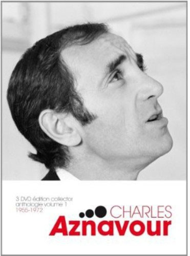 Charles Aznavour - Anthologie Volume 01: 1955-72 -3 PÇs -  Dvd Importado -   - Billbox Records