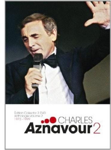 Charles Aznavour - Anthologie Volume 02: 1973-1999 - 3 Pçs - Dvd Importado  - Billbox Records