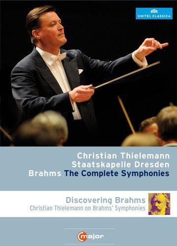 Christian Thielemann - Dresden Staatskapelle - Complete Symphonies & Discovering Brahms - 2 Blu Rays Importados  - Billbox Records