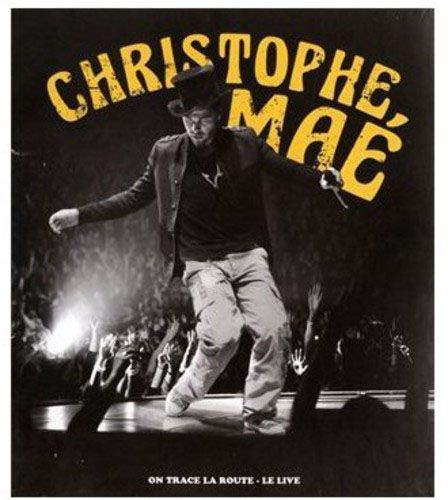Christophe Mae - On Trace la Route: Live  - Blu ray Importado  - Billbox Records