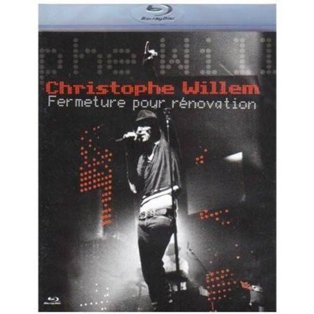Christophe Willen - Fermeture Pour Renovation - Blu ray + Dvd Importado  - Billbox Records