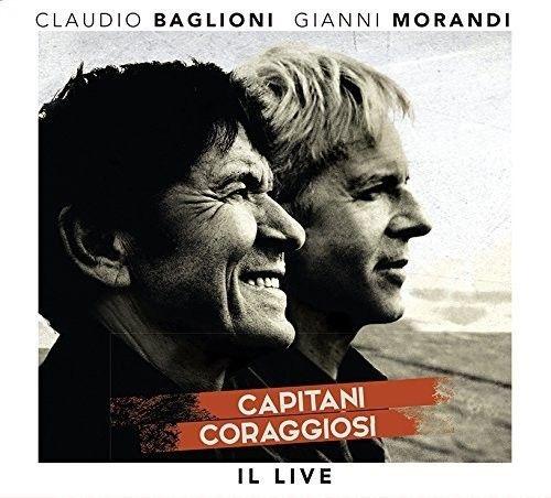 Claudio Baglioni & Gianni Morandi - Capitani Coraggiosi: Il Live (3cd+Dvd) - Dvd Importado  - Billbox Records