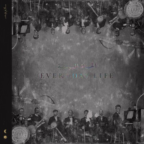 Coldplay Everyday Life 180 Gram Vinyl, Black, Digital Download Card - 2 Lps Importados  - Billbox Records