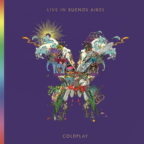 Coldplay -  Live in Buenos Aires - 2 Cds Importados  - Billbox Records