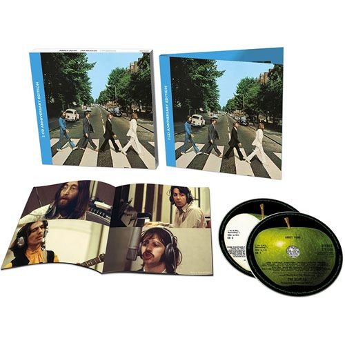 Beatles - Abbey Road Anniversary Deluxe Edition - 2 Cds Importados  - Billbox Records