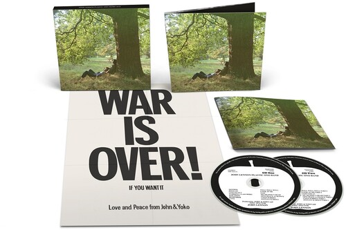 John Lennon Plastic Ono Band - 2 Cds Importados  - Billbox Records