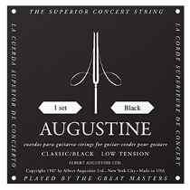 Cordas de Nylon Low Classic Black - Augustine  - Billbox Records