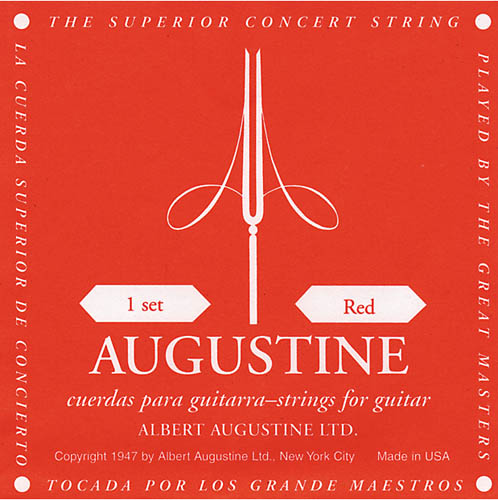 Encordoamento de Nylon  Classic Red Medium Tension - Augustine  - Billbox Records