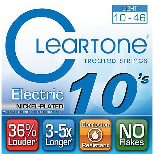 Encordoamento Cleartone Eletric Nickel -Plated - Light 10-46  - Billbox Records