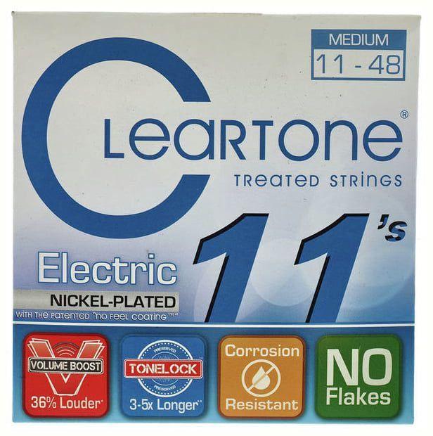 Encordoamento Cleartone Eletric Nickel Plated - Medium 11-48  - Billbox Records