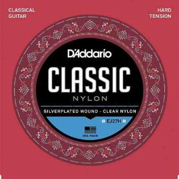 Cordas para Violão de Nylon DAddario Ej27h Hard Tension  - Billbox Records