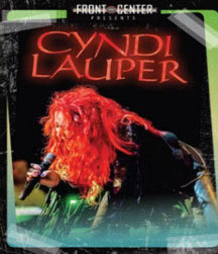 Cyndi  Lauper - Front & Center - Blu ray Importado  - Billbox Records