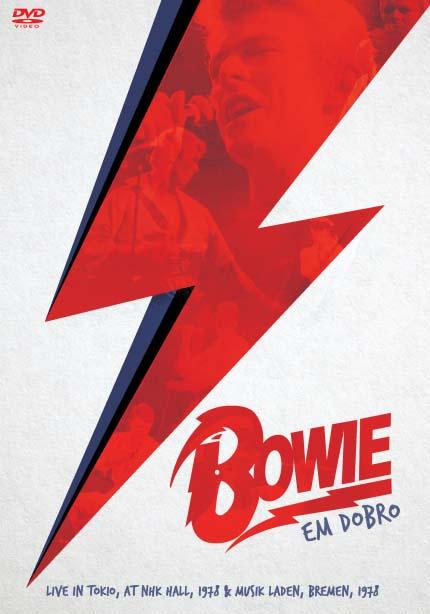 DAVID BOWIE EM DOBRO - LIVE IN TOKYO AT NHK HALL 1978 - MUSIK LADEN, BREMEN 1978 - DVD NACIONAL  - Billbox Records