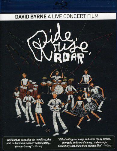 David Byrne -  Ride Rise Roar A Live Concer Film - Blu Ray Nacional  - Billbox Records